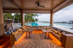 #Cocoscollections Beach Bar in Maldives