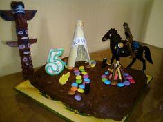 gâteau d'anniversaire des p'tits indiens