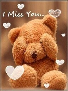 Sad I Miss you Images Pics Wallpaper for lover Girlfriend Couple Cute Miss You, I Miss U, Cute Love, I Miss You Wallpaper, Bear Wallpaper, Teddy Bear Quotes, Miss You Images, Teady Bear, Teddy Bear Pictures