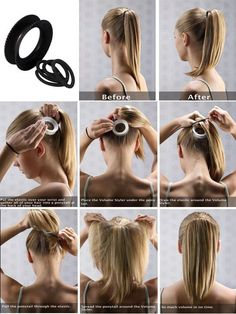 FL | How To Create Volume to Your Ponytail