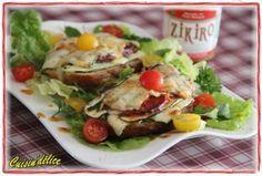 Tartines d'un soir aux saveurs basques, Recette de Tartines d'un soir aux saveurs basques par Claryss - Food Reporter