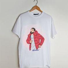 Drake hotline bling dance t shirt men and t shirt women by fashionveroshop