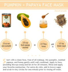Relax this Sunday evening and indugle your skin in this amazing pumpkin and papaya mask! Wash it off with your Fiama Di Wills Gel Bathing Bar