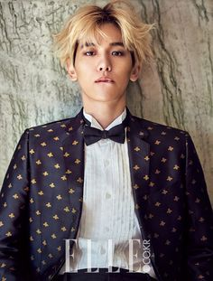EXO Baekhyun - Elle Magazine November Issue '15