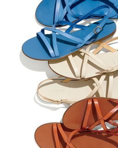 Warmer weather is (almost) here… It's time for your toes to come out of hibernation. We recommend this J.Crew women's strappy Italian-made style.