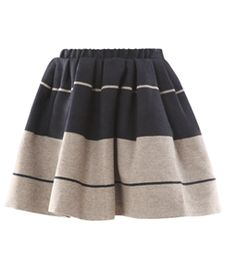 Romantic Stripe Skirt  by Acne  #matchesfashion