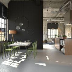 Combo Design is officieel dealer van Thonet. ✓Thonet 118 Stoel makkelijk bestellen ✓ Verschillende varianten verkrijgbaar ✓ Snelle levertijd Rustic Industrial Decor, Industrial Bedroom, Industrial House, Bedroom Pictures, Bedroom Images, Bedroom Color Schemes, Bedroom Colors, Sofas, Armchairs