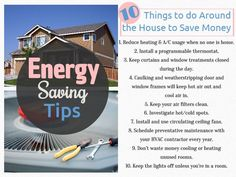 Lower your energy bills with these 10 #energysavingtips! #gogreen #savemoney