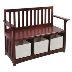 I pinned this Marydel Storage Bench from the Stylish Storage event at Joss and Main!
