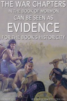 In addition to providing a glimpse into Nephite and Lamanite political and religious culture, the war chapters in the Book of Mormon can also be seen as evidence for the book's historicity. https://knowhy.bookofmormoncentral.org/content/why-are-there-so-many-war-chapters-in-the-book-of-mormon #War #BookofMormon #Mormon #Faith #LDS #Knowhy #History
