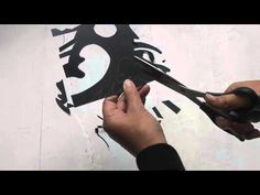 """Nōtan (濃淡) is japanese for """"light-dark harmony."""" this video shows you how to make a notan artwork using a square of black cardboard and art supplies. Notan Design, 2d Design, Freetime Activities, Notan Art, 7th Grade Art, Tinta China, Principles Of Art, School Art Projects, Elements Of Art"""
