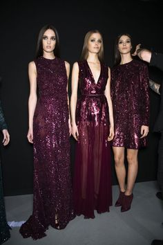naimabarcelona:  Backstage at Elie Saab Fall 2014-RTW