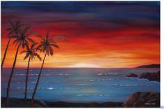 Next painting (Sunset beach)
