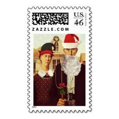 Folk Art Holiday Christmas Stamps