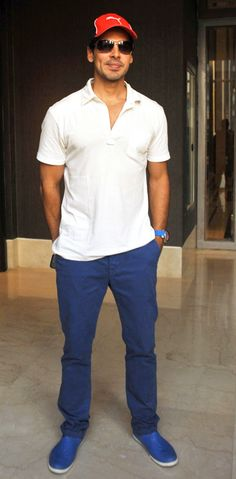 Dino Morea at Deanne Panday's book launch. #Fashion #Style #Handsome #Bollywood