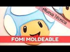 Aplicaciones de la goma eva: figuras planas | facilisimo.com - YouTube