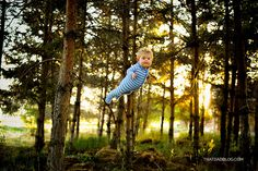 1-year-old William (Wil) Lawrence, the youngest in his family, was born a little bit different from the rest of his brothers and sisters, but that won't hold him back. Wil has Down syndrome, but thanks to a bit of Photoshop magic from his photographer dad Alan, he also has a very special gift – Wil can fly!