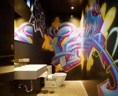 Уличное искусство дома: граффити в интерьере