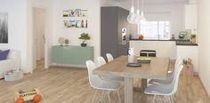 #ethjemfraskanska#dvergsnesheia#kjøkken Kristiansand, Dining Table, 3d, Furniture, Home Decor, Modern, Room Decor, Dinning Table Set, Home Interior Design