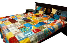Give a traditional touch to your bedroom by decorating it with colorful, traditionally designed bed sheets from SilkRute. Available in stunning designs and in different sizes, you can Buy Bed Sheets Online on SilkRute, which are Hand Printed. Some exclusive collection of bed sheets are Floral Print Cotton Double Bed Sheet, Pure Cotton Jaipuri Printed Floral Leafy Double Bed Sheet, etc.