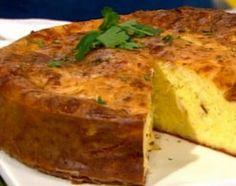 Torta de queso y cebolla. Cocineros argentinos.