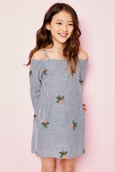 Floral Off Shoulder Dress - Girls Clothing & Fashion - Hayden Girls