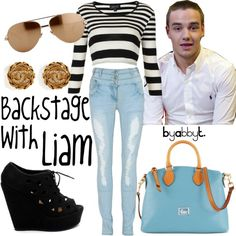 Backstage with Liam