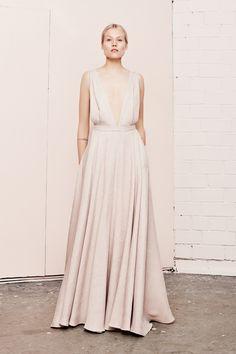 KAIROS maxi deep v dress  UNDRESS SS17 collection  www.iwearundress.com