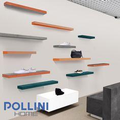 #ceramic shelves and benches for #clothing #store Mensole e sedute in #ceramica per #negozio d'abbigliamento