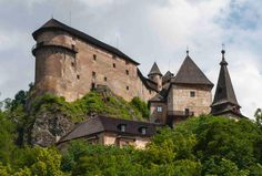 Orava Castle - Oravsky Podzamok, Región de Zilina,Slovakia - TripAdvisor Trip Advisor, Around The Worlds, Earth, Mansions, Palaces, House Styles, Castles, Decor, Pray