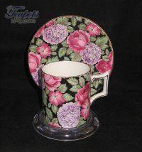 James Kent Tapestry Chintz Antique Demitasse Cup
