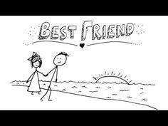 ▶ Jason Mraz - Best Friend - Beautiful animation, touching lyrics. #friendship_song