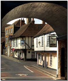 The village of Ash,in Kent, England