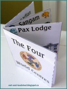 Owl & Toadstool: Four World Centres Mini Book
