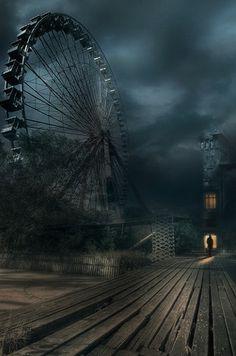 Amusement Park by Photoportee.