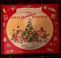 Day 6 of our #2016BookAdventCalendar - a new addition, The Jolly Christmas Postman by the #amazing Janet & Allan #Ahlberg.