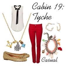 """""""Tyche"""" by ellalea ❤ liked on Polyvore featuring Marc by Marc Jacobs, Juicy Couture, T. Babaton, Venessa Arizaga and percy jackson"""