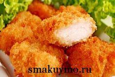 Как приготовить рыбные палочки в кукурузной панировке