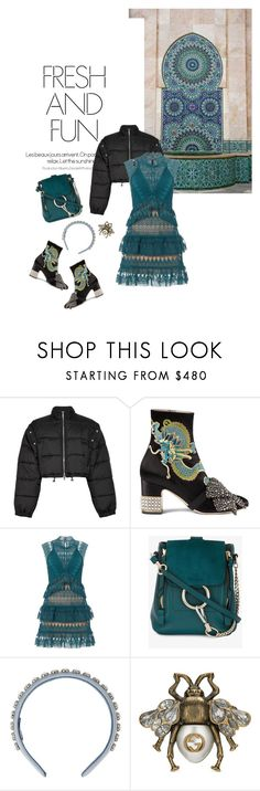 """""""Fall/Winter 2017: Trendy and chic"""" by ecletica-and-chic ❤ liked on Polyvore featuring 3.1 Phillip Lim, Gucci, self-portrait, Chloé and Miu Miu"""