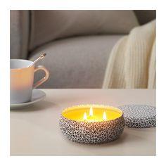 СОММАР Ароматическая свеча IKEA Свежий аромат лимона 349 руб