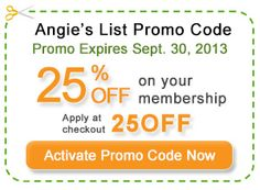 Someone Need A Angie's List Discount? #promo_code_angies_list #Angies_List_Promo_Code #promotional_code_angies_list