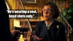 No one messes with Hetty and gets away with it.