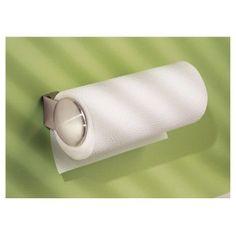 InterDesign Forma Koni Stainless Steel Wall Mount Paper Towel Holder - Brushed Nickel (12)