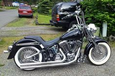 Harley Fatboy, and close to what mine will look like