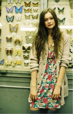 Sundresses in the Fall - easy ways to transform sundresses into a toasty and fashionable winter look. On TrendState now!