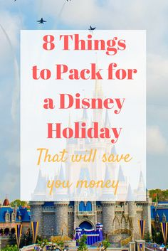 Heading to meet Mickey Mouse? Buying these items before you go could help you save money at Disney World, which is usually an already expensive trip