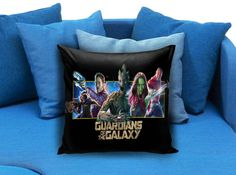 guardians of the galaxy vin diesel groot zoe saldana gamora dave bautista bradley cooper rocket raccoon These soft pillowcase made of 50% cotton, 50% polyester.  It would be perfect to decorate your home by using our super soft pillow cases on sofa, chair, bench or bed.  Customizable pillow case is both comfortable and durable, improving the quality of your sleep with these comfortable pillow case, take it home now!  Custom Zippered Pillow Cases available in 7 different size (16″x16″…