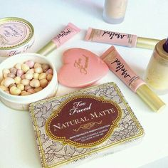 Assorted Too Faced Luxury Makeup on We Heart It