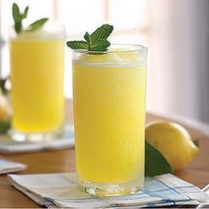 Homemade Lemonade: Slightly less than 1/2 liter sugar syrup, and slightly more than 1/2 liter lemon juice.