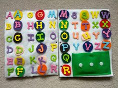 This is perfect for learning to spell!! 9 Quiet Book Page Ideas {Roundup} - The Inspired Home